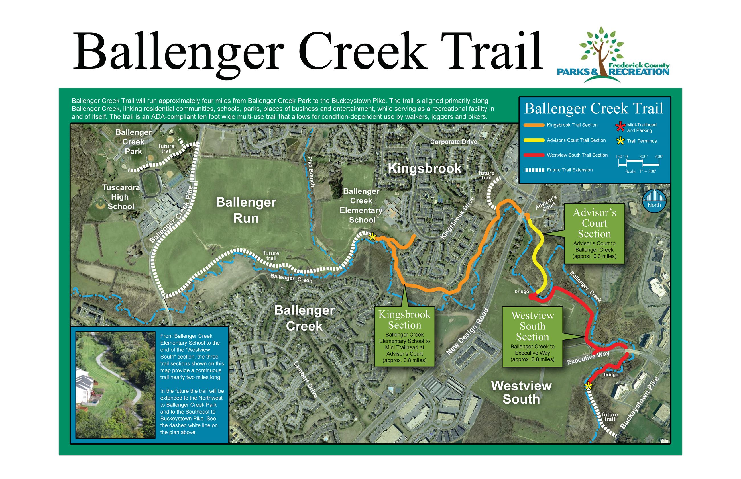 Ballenger Creek Trail