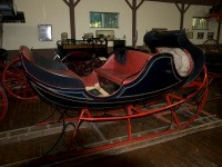 Vis-A-Vis Sleigh, Late 1800s to Early 1900s